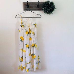 NWT Japna Lemon Tank Dress S
